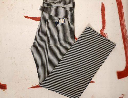 Scartilab SS2018 Cotton man pant stripe 129SM225