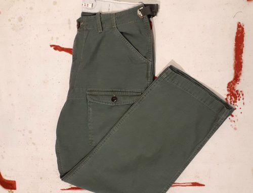 Scartilab 131SG824 Cotton Man Pant Olive