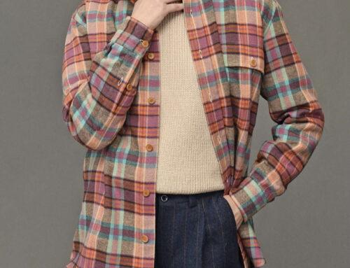 Salvatore Piccolo damenhemd Mirko Tom cotton flannel