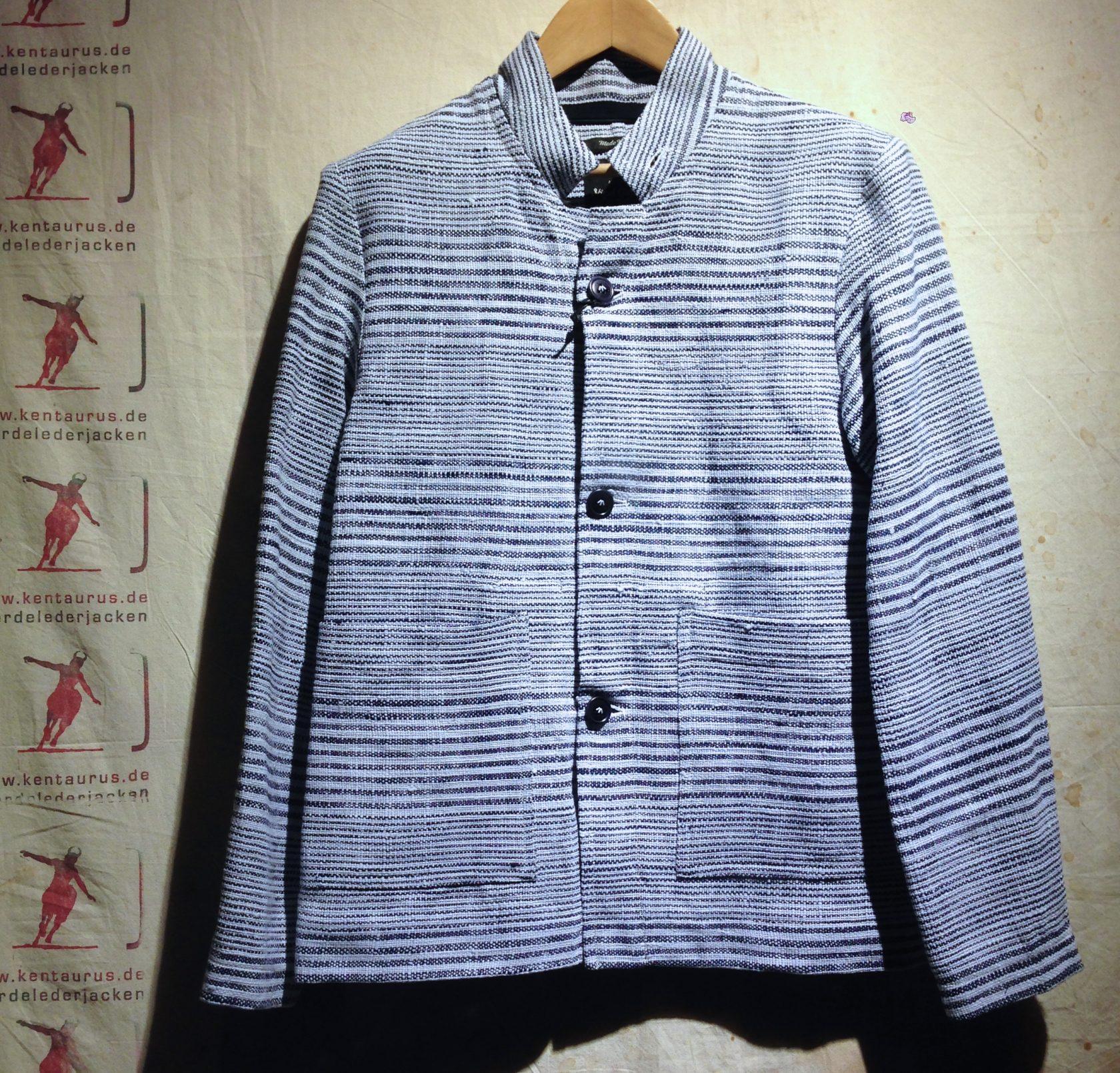 Nigel Cabourn tunic jacket indigo