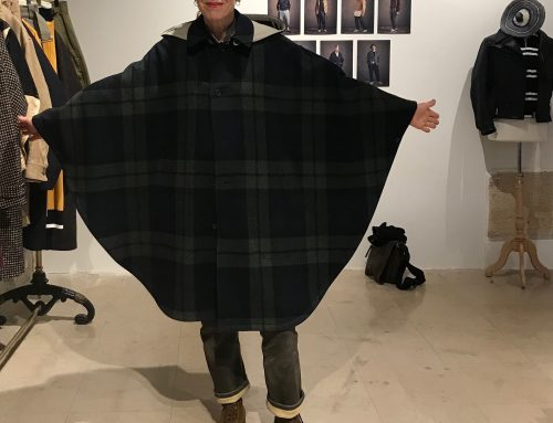 Haversack wool cape
