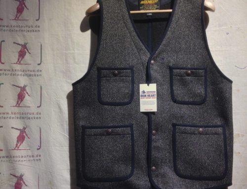 IHV-09 brown wool vest