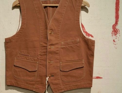 Scartilab 403SG865 Cotton Vest Tan