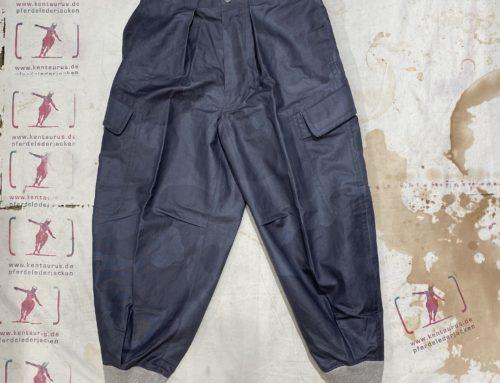 MotivMfg linen ski trousers charcoal