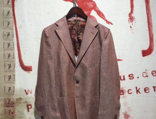 Salvatore Piccolo Red Linen Jacket G-VT 06