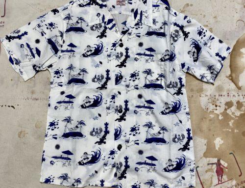 Momotaro hawaian shirt