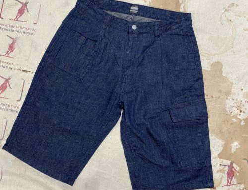 Momotaro denim shorts