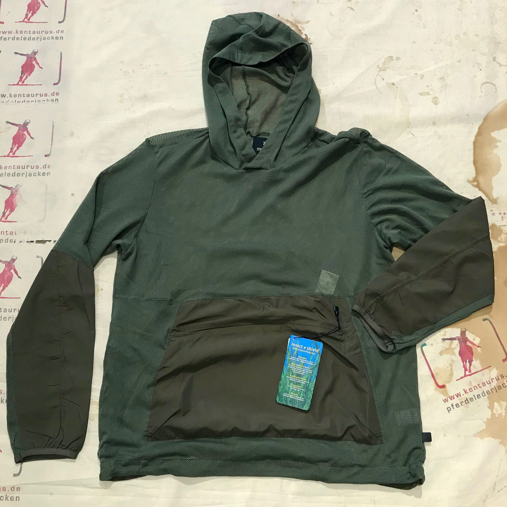 Snow Peak insect shield pullover