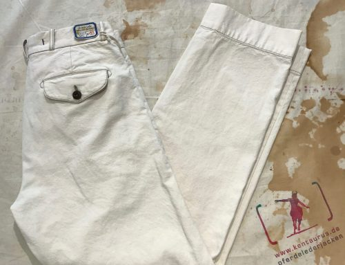 Scartilab 124SM981 Natural White Chino Pant
