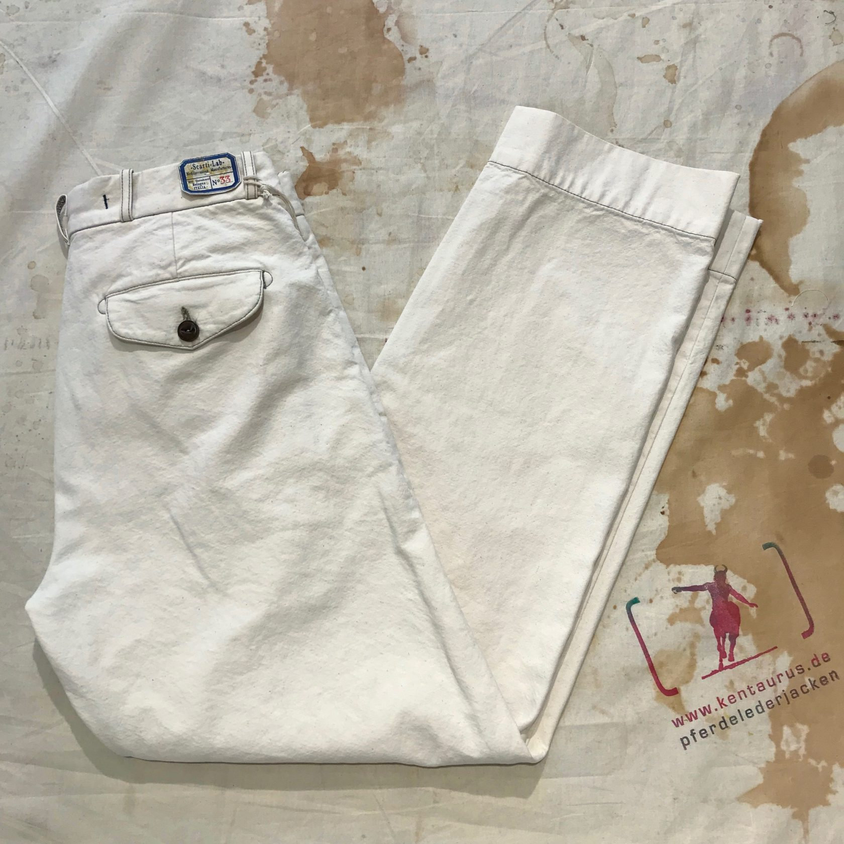 Scartilab 124SM981 nat white chino