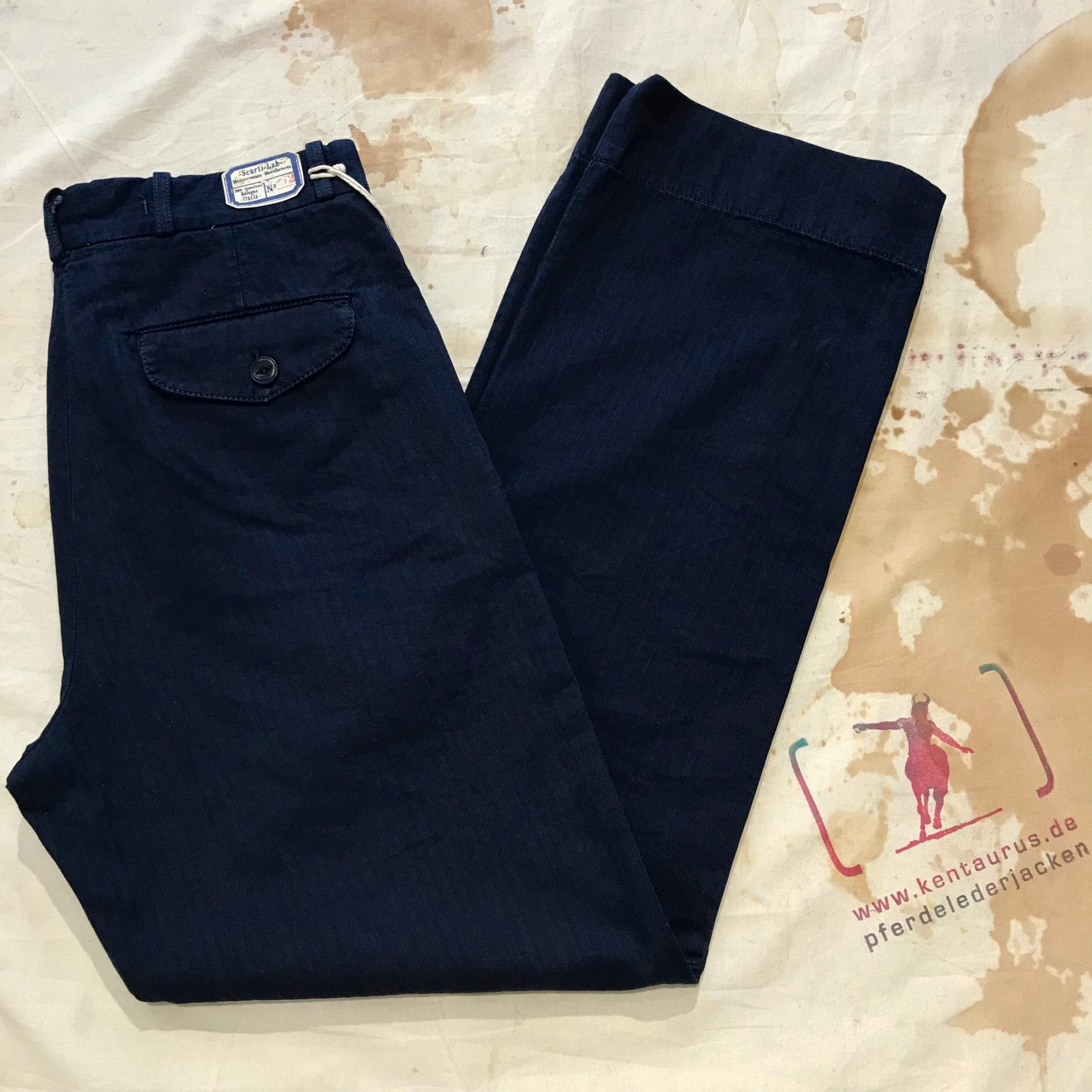 Scartilab blue chino SS18