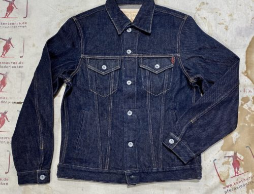 Iron Heart IH-526PJ 21oz selvedge denim modified jacket type III indigo