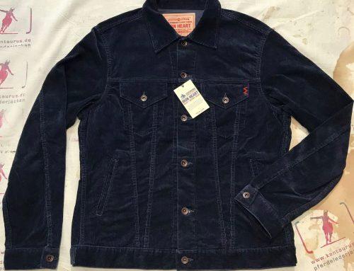 IHJ-69 black cord jacket