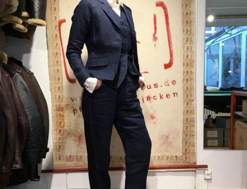 Hansen 3 piece suit SS2016