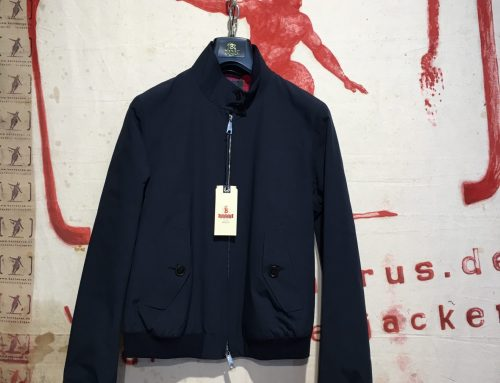 Baracuta Ladies G-9 marine blue