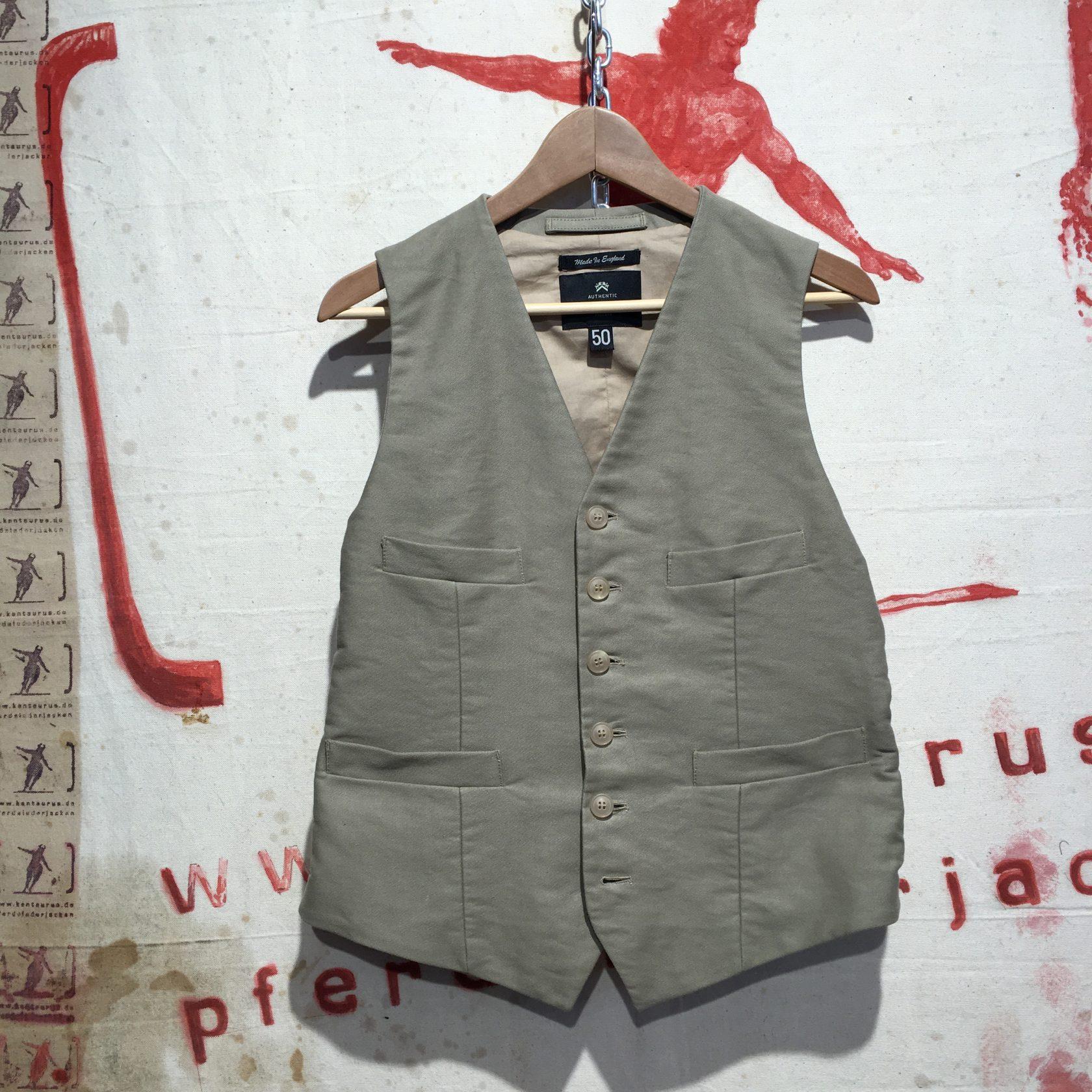 Cabourn 3 piece suit vest
