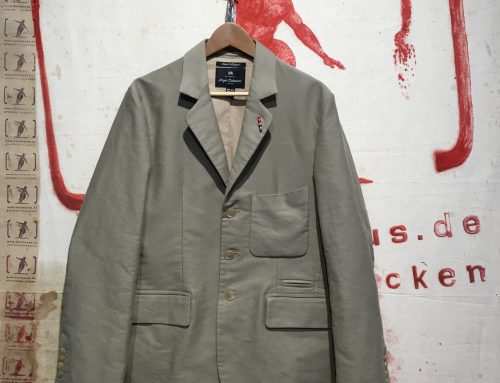 Nigel Cabourn   3 piece suit cotton sateen