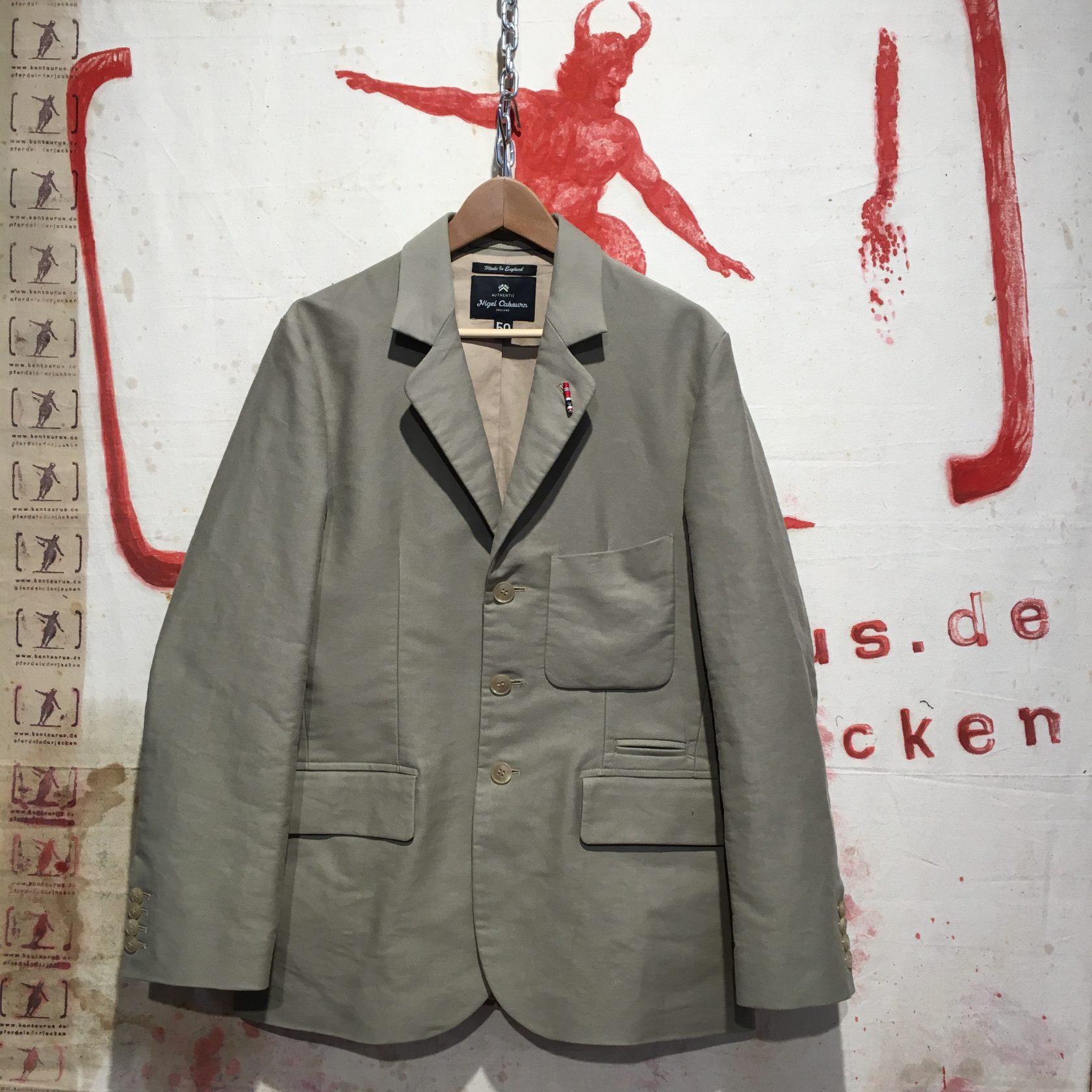 Nigel Cabourn   3 piece suit cotton sateen