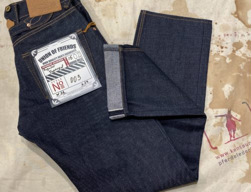 Union of Friends 15oz jeans type 003