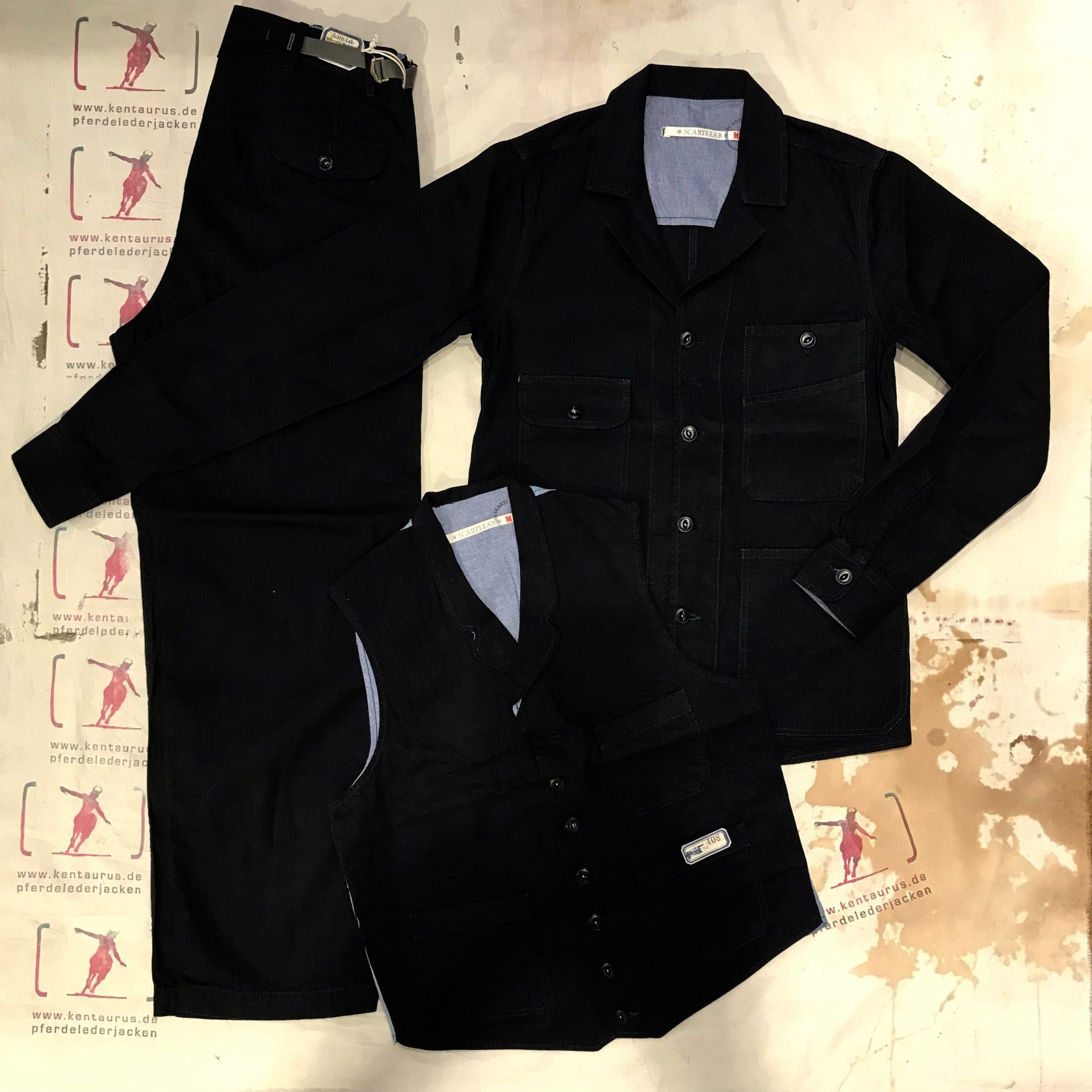 Scartilab 3 piece work suit