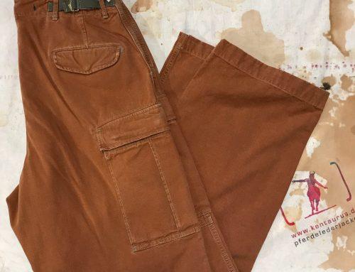 Scartilab cotton pant tan SS18