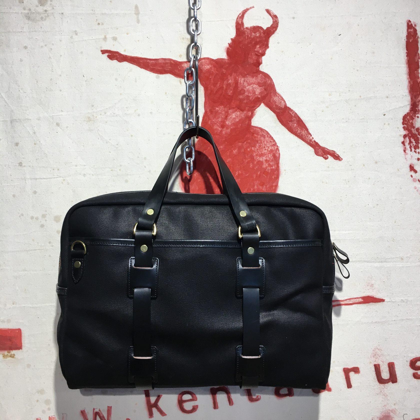 Croots canvas bag black