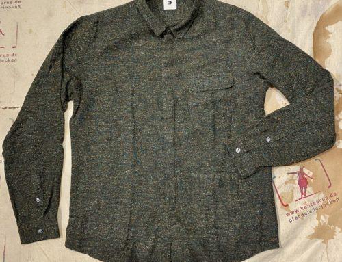 Delikatessen round collar shirt