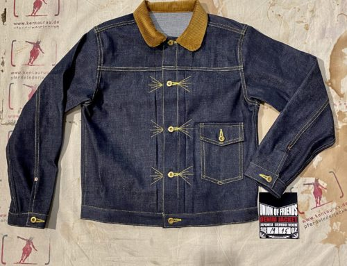 Union of Friends jeans jacket type 1 cord collar