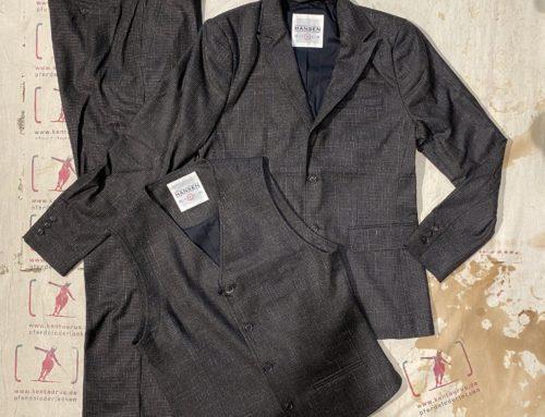 Hansen 3 piece suit macchiato