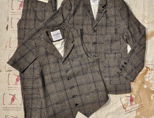 Hansen 3 piece suit checkered