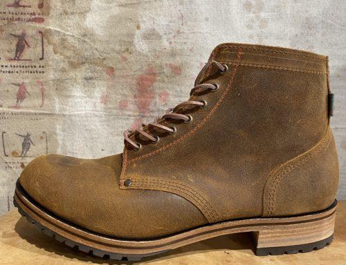 Dundas boot type 1 mustard suede