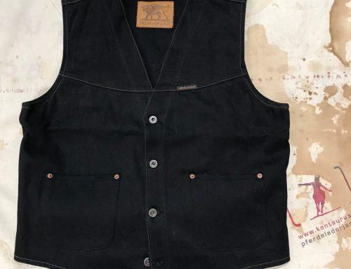 Indigofera daryl vest black