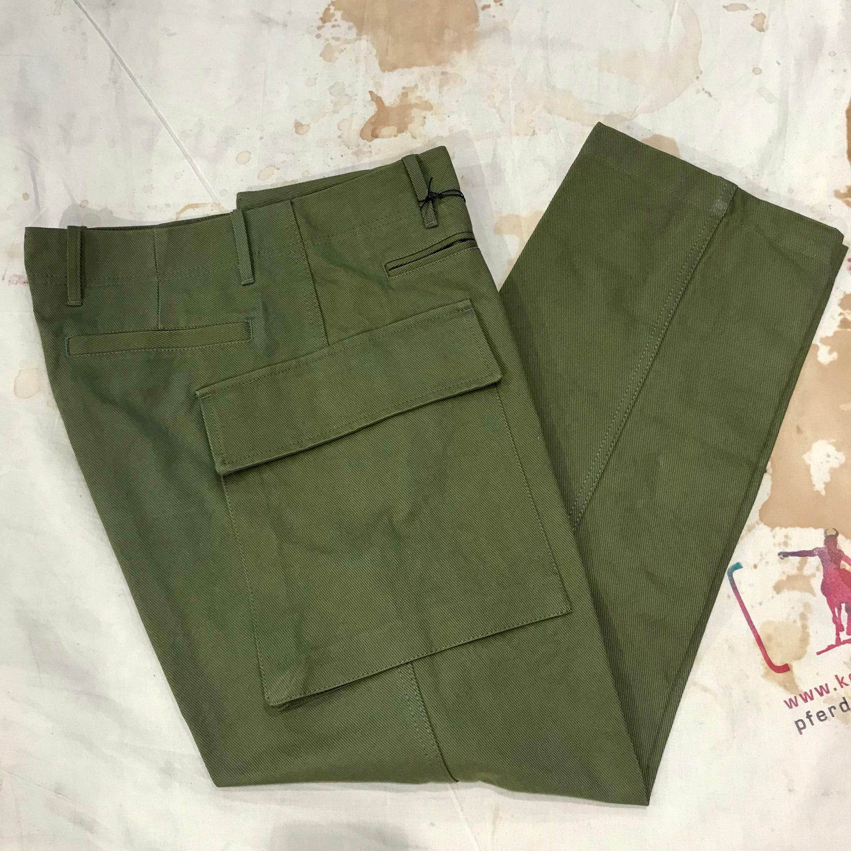 East Harbour Surplus military pant Conrad