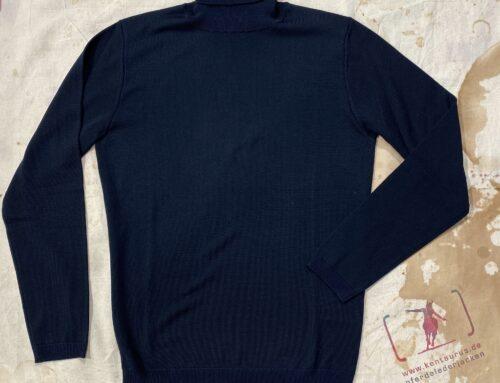 Seldom herren rollkragen pullover schwarz