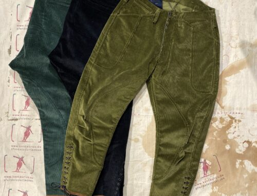 Les Motocyclettistes cord breeches