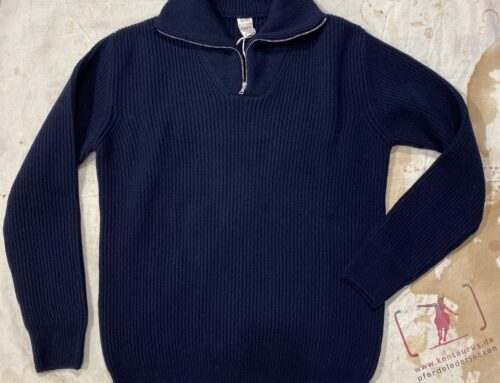 G.R.P. zip pullover  anorak  blue