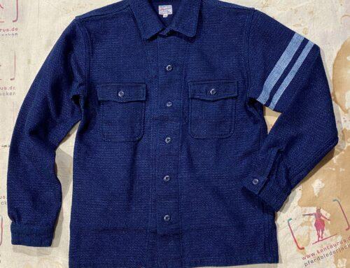 Momotaro sashiko GTB shirt indigo
