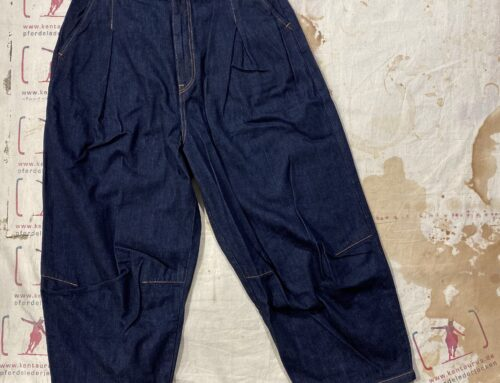 Setto 12oz denim naja pants indigo