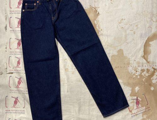 Setto 14oz selvedge  basic jeans women