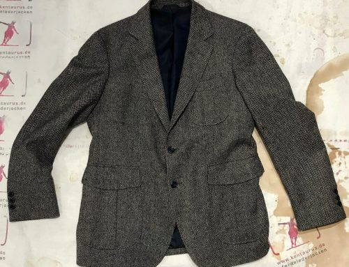Regent wool jacket herringbone