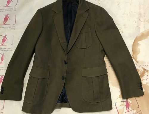 Regent cotton jacket olive