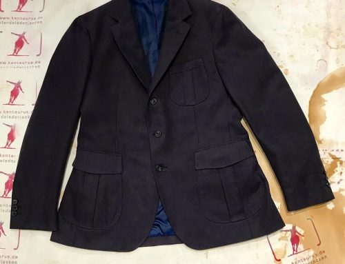 Regent  cotton jacket navy