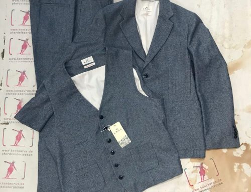 A.B.C.L. Japan 3 piece suit grey herringbone