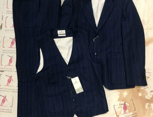 A.B.C.L. Japan 3 piece suit pinstripe