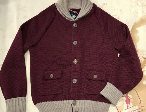 A Piece of Chic wool flightjacket burgundy