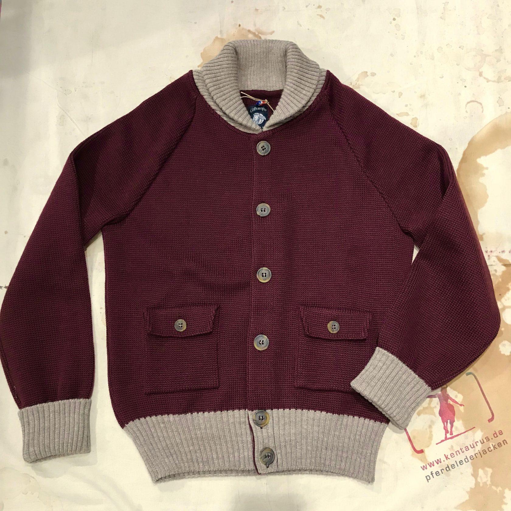 A Piece of Chic wool flightjacket burgundy
