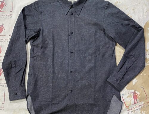 MotivMfg draughtsman shirt grey
