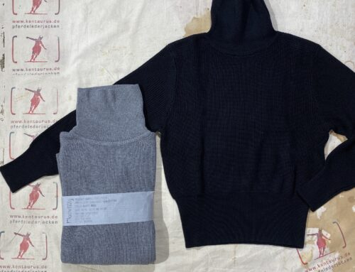 MotivMfg submariner turtleneck black and grey