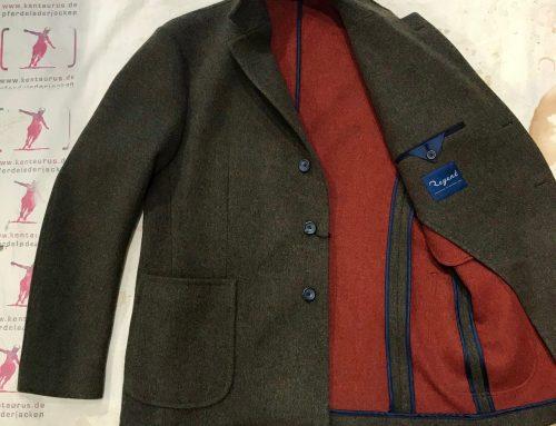 Regent doubleface wool jacket