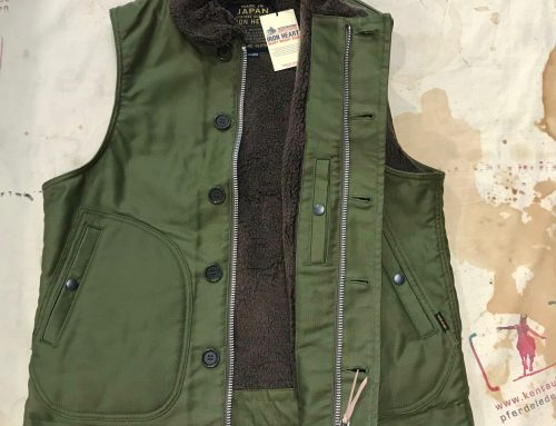 Iron Heart IHV-22 deck vest olive